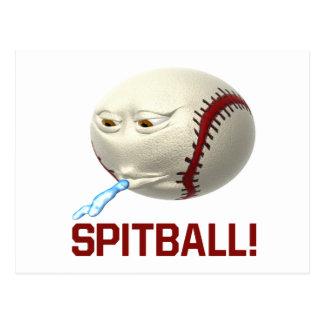 Spitball Postcard