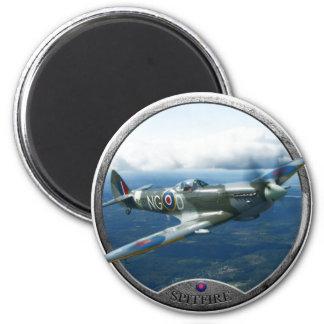 Spitfire 2 Inch Round Magnet