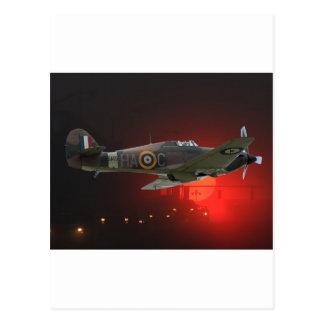 Spitfire británico postal