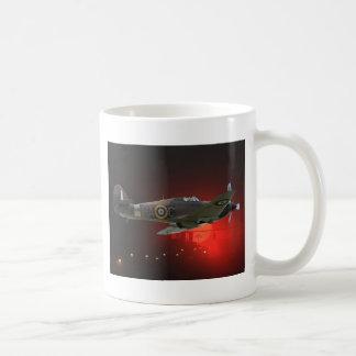 Spitfire británico taza