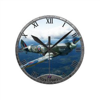Spitfire Clock
