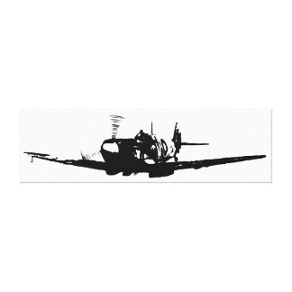 Spitfire de David Goodall Impresión En Lona Estirada