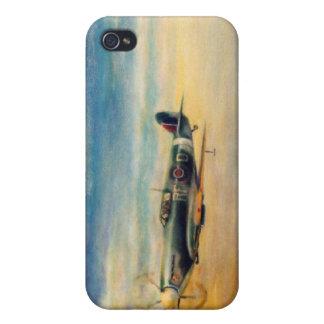 spitfire de la aviación iPhone 4/4S carcasas