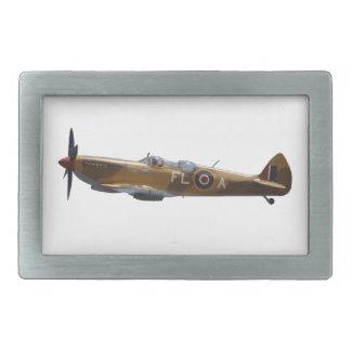 Spitfire de la batalla de Inglaterra Hebilla Cinturón Rectangular