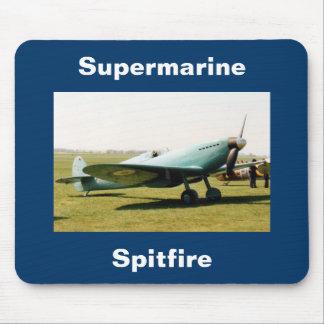 Spitfire de Supermarine Mousepads