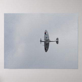 Spitfire de Supermarine Póster