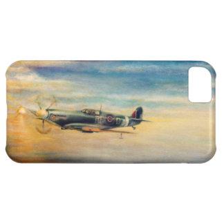 Spitfire del aeroplano funda para iPhone 5C