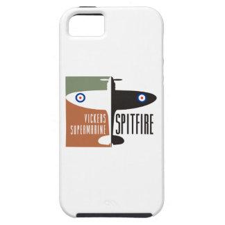 spitfire del supermarine de los vickers funda para iPhone SE/5/5s