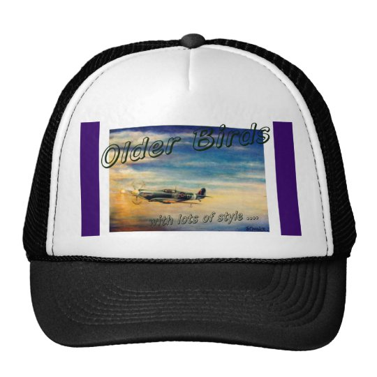 Spitfire Fans,Vintage aviation. Trucker Hat