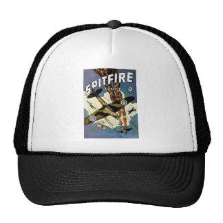 Spitfire Fighter Aircraft - World War Two Trucker Hat