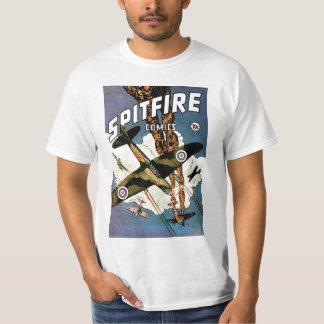 Spitfire Fighter Aircraft - World War Two T-Shirt