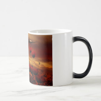 Spitfire Flypast Magic Mug