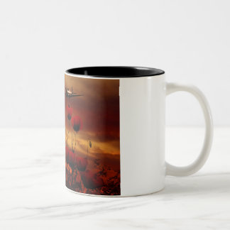 Spitfire Flypast Two-Tone Coffee Mug