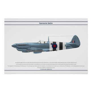 Spitfire GB 16 Sqn 1 Posters