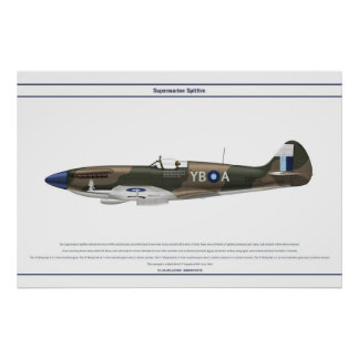 Spitfire GB 17 Sqn 1 Poster