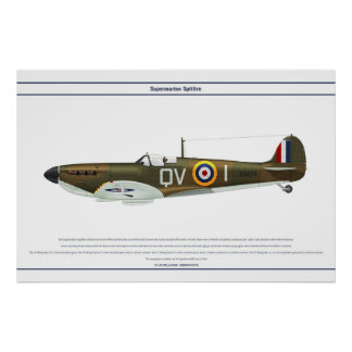 Spitfire GB 19 Sqn 1 Poster