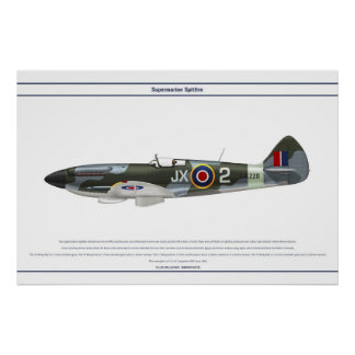 Spitfire GB 1 Sqn 1 Poster