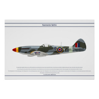 Spitfire GB 28 Sqn 1 Poster
