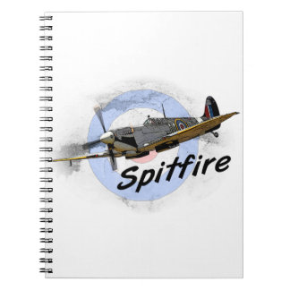 Spitfire Libros De Apuntes Con Espiral