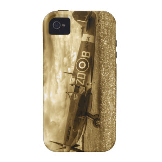 Spitfire MH434 iPhone 4/4S Carcasas