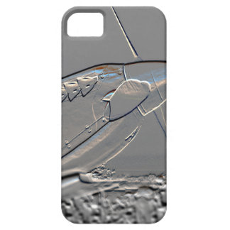 Spitfire Mk 1A aircraft embossed iPhone SE/5/5s Case