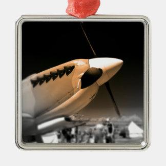 Spitfire Mk 1A aircraft Metal Ornament