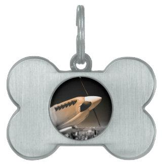 Spitfire Mk 1A aircraft Pet ID Tag