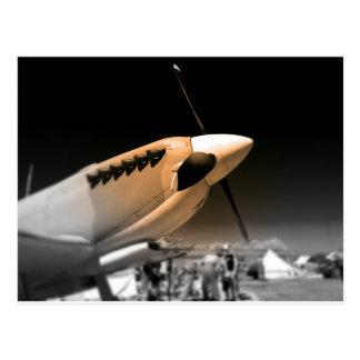 Spitfire Mk 1A aircraft Postcard