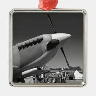Spitfire Mk 1A Metal Ornament