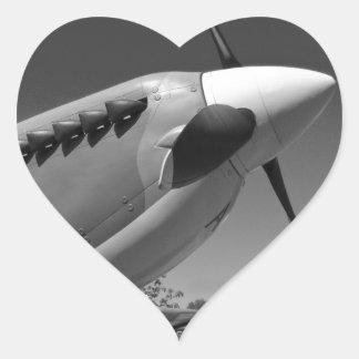Spitfire Mk 1A Heart Sticker