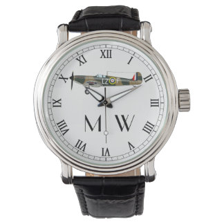 Spitfire   Monogrammed Wristwatch