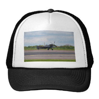 Spitfire On The Runway Hat
