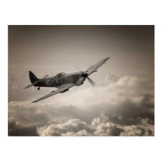 Spitfire Patrol Postcard
