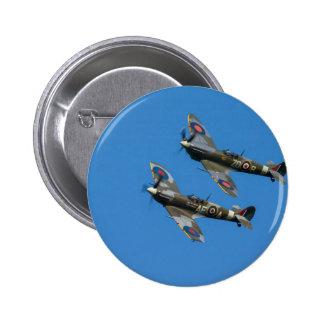 Spitfire Pin Redondo De 2 Pulgadas