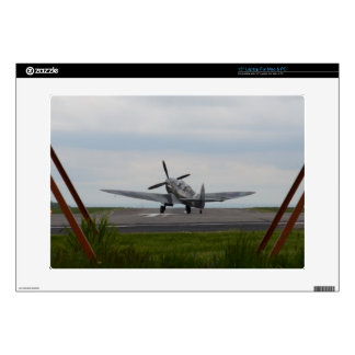 Spitfire Ready For Takeoff Laptop Skin