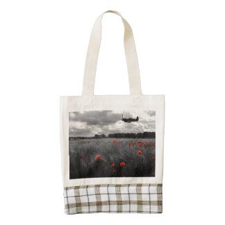 Spitfire Remembers Zazzle HEART Tote Bag