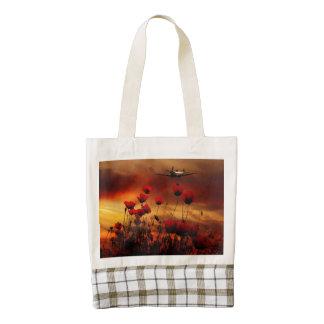 Spitfire Salute Zazzle HEART Tote Bag