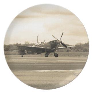 Spitfire Sepiatone Plate