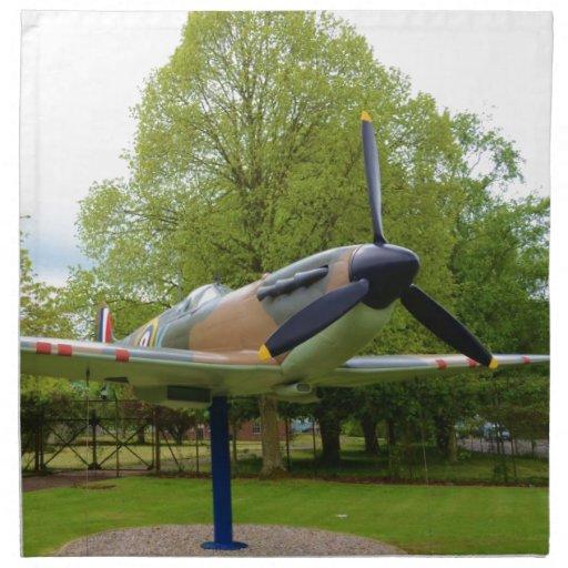Spitfire Servilleta Imprimida