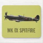 Spitfire Tapetes De Ratones