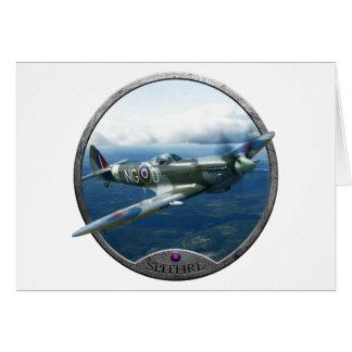 Spitfire Tarjeta De Felicitación