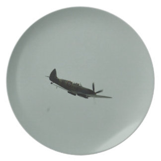 Spitfire Trainer Party Plate