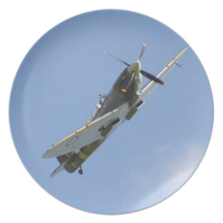 Spitfire Trainer Party Plates