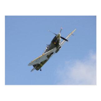 Spitfire Trainer Postcard