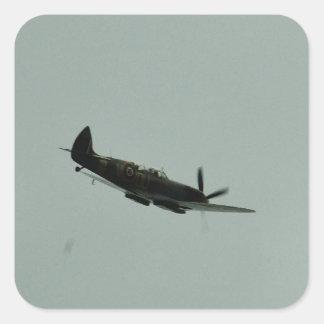 Spitfire Trainer Square Sticker