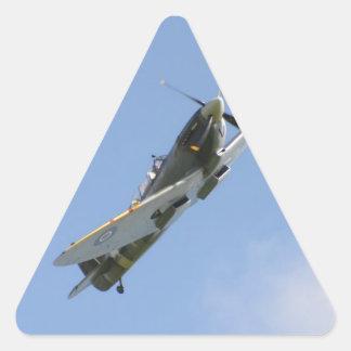 Spitfire Trainer Triangle Sticker