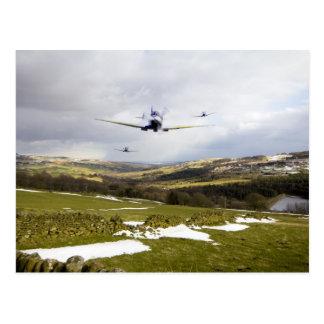 Spitfire Trio Postcard