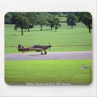 Spitfire, Woodford Air Show 1990, England Mousepad