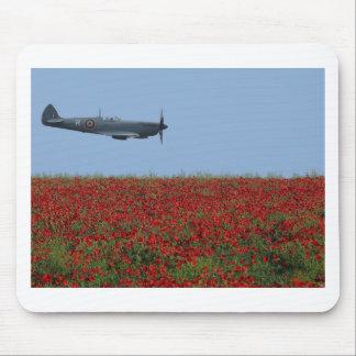 Spitfire y amapolas