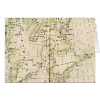 Spitsbergen, Norway Map Card